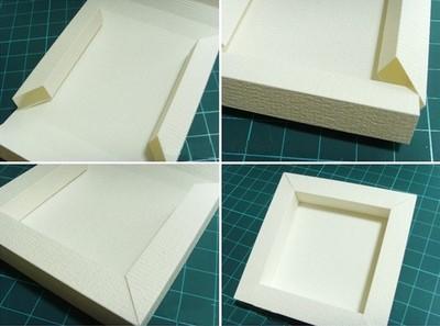 Cách làm khung hình bằng giấy bìa cứng