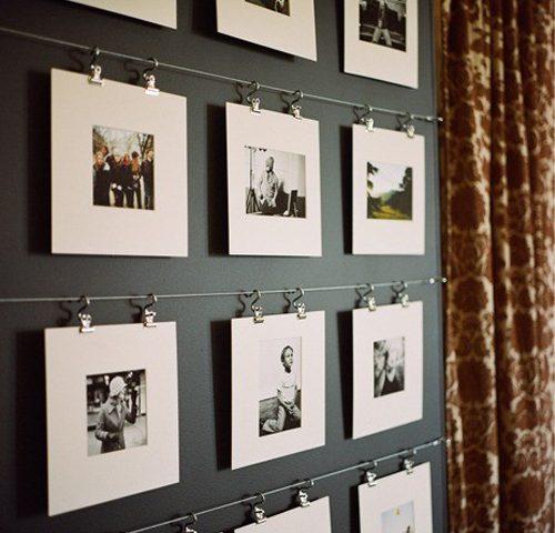 Cách treo ảnh gia đình trong nhà đẹp