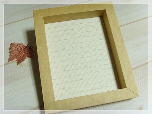 cách làm khung ảnh bằng giấy a4