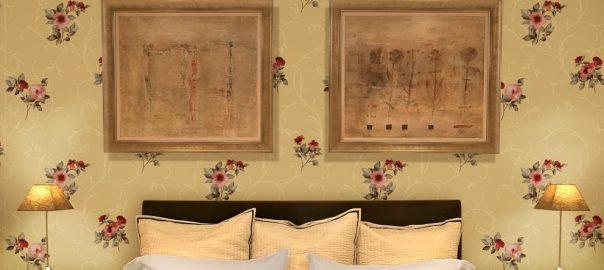 khung tranh trang trí phòng ngủ