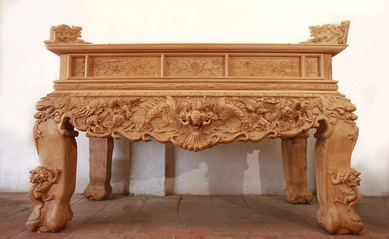 sập gỗ thờ cúng